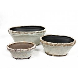 Doniczka ceramiczna komplet...