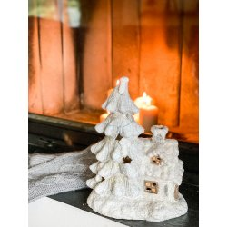 Dekoracja świąteczna, Domek...