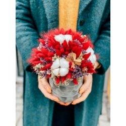 Flowerbox z suszkami mały