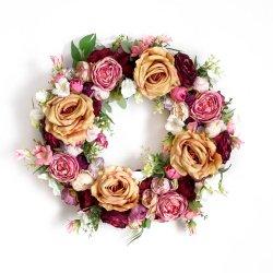 Wianek kwiatowy Anna