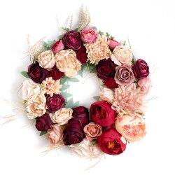 Wianek kwiatowy Romantic