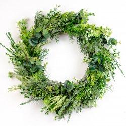 Wianek z zieleni, wiosenny,...
