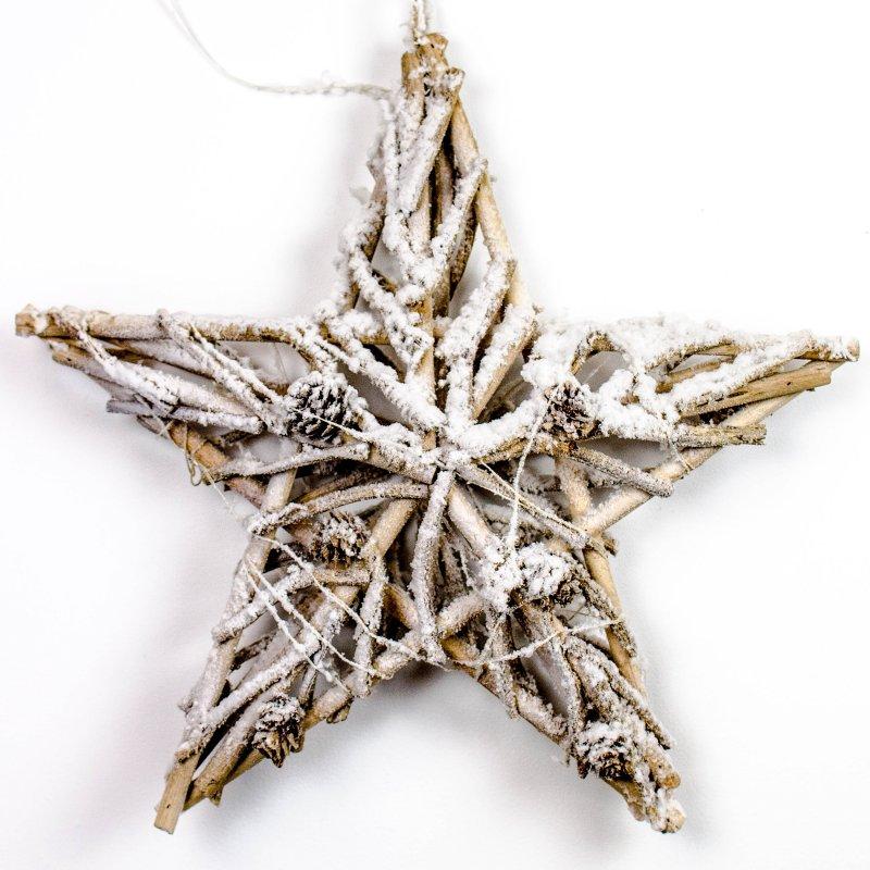 Gwiazda świąteczna ze światełkami ledowymi
