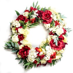 Wianek kwiatowy My heart