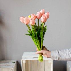 Tulipany wiosenne,  gumowe