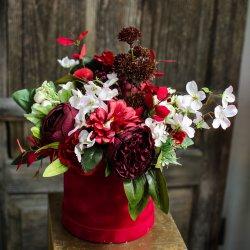 Flowerbox ze sztucznych...