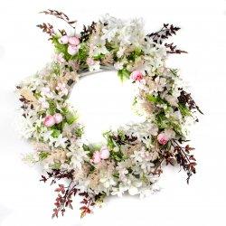 Wianek wiosenny kwiatowy